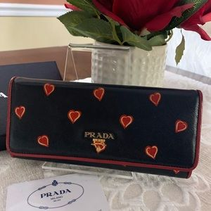 PRADA Hearts Wallet